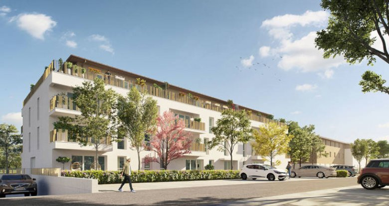 Achat / Vente appartement neuf Carbon-Blanc proche tramway A (33560) - Réf. 3612