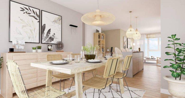 Achat / Vente appartement neuf Carignan-de-Bordeaux entre ville et campagne (33360) - Réf. 4874