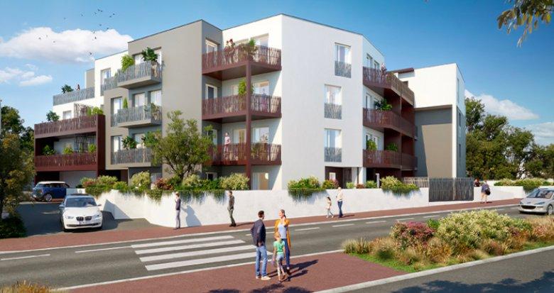 Achat / Vente appartement neuf Cenon proche parc du Cypressat (33150) - Réf. 5426