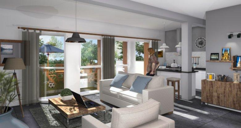 Achat / Vente appartement neuf Gradignan proche du Bois de Cotor (33170) - Réf. 5564