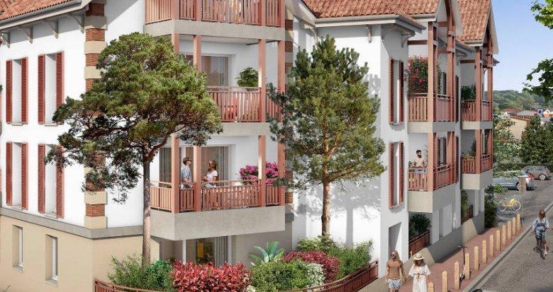 Achat / Vente appartement neuf Lacanau Océan à 200m de la plage (33680) - Réf. 6060