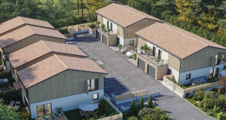 Achat / Vente appartement neuf Lanton sur les berges du Bassin d'Arcachon (33138) - Réf. 4643