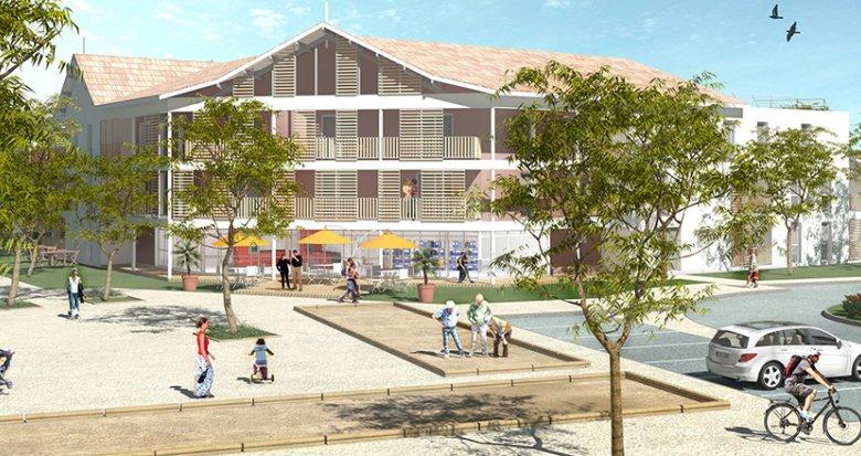 Achat / Vente appartement neuf Le Teich, 500m de la Gare TER (33470) - Réf. 3825