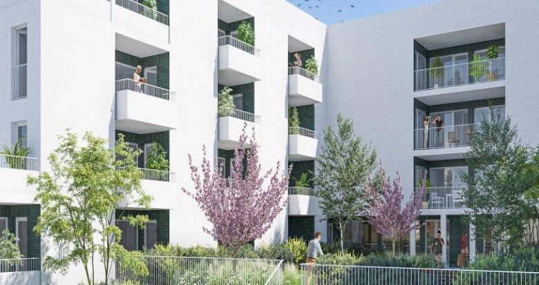 Achat / Vente appartement neuf Lormont au pied du parc de l'Ermitage (33310) - Réf. 5695