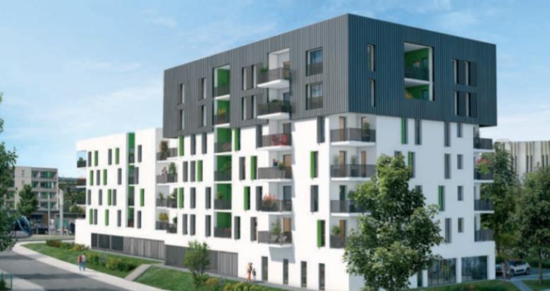 Achat / Vente appartement neuf Lormont proche tramway Bois Fleuri (33310) - Réf. 5187