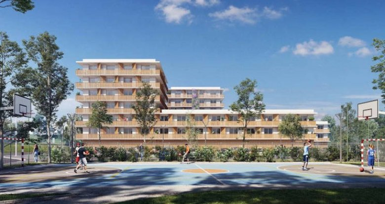 Achat / Vente appartement neuf Lormont résidence étudiante quartier de la Ramade (33310) - Réf. 3831