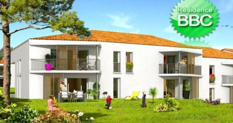 Achat / Vente appartement neuf Martignas-sur-Jalle proche de Bordeaux (33127) - Réf. 1