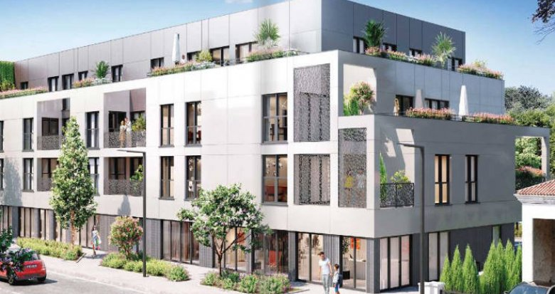 Achat / Vente appartement neuf Mérignac proche tramway A (33700) - Réf. 4897