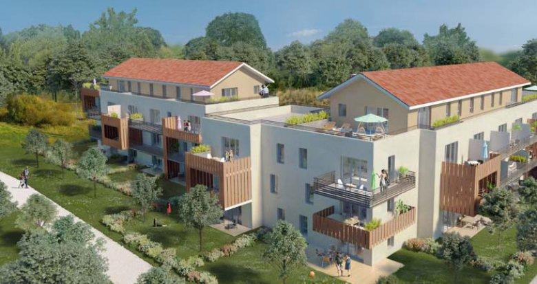 Achat / Vente appartement neuf Parempuyre Fontanieu (33290) - Réf. 3334