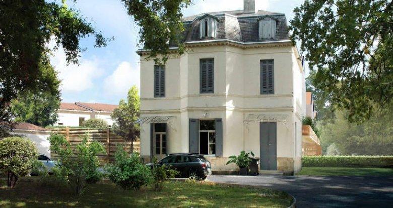 Achat / Vente appartement neuf Pessac à 600m de la place du Marché (33600) - Réf. 5702