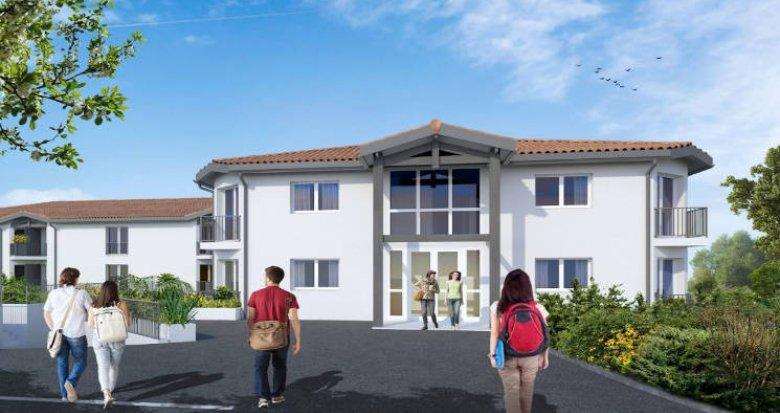 Achat / Vente appartement neuf Pessac à deux pas des transports (33600) - Réf. 4733