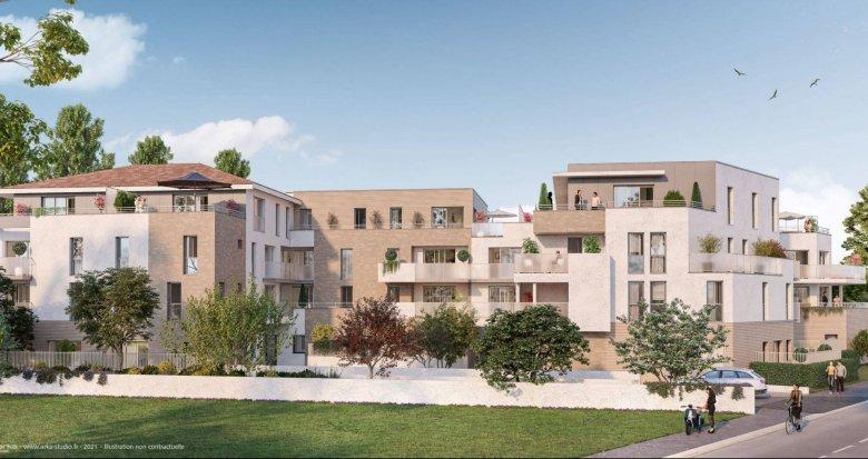 Achat / Vente appartement neuf Pessac à proximité du Parc Cazalet (33600) - Réf. 6218