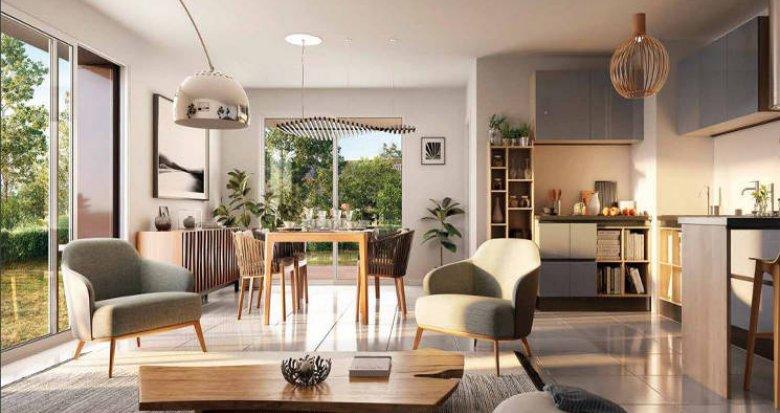 Achat / Vente appartement neuf Pessac au pied du tramway B Châtaigneraie (33600) - Réf. 3504