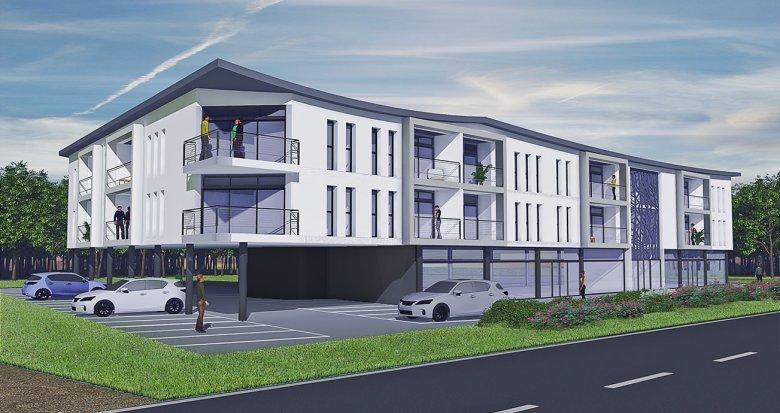 Achat / Vente appartement neuf Pompignac à 10 miniutes du Tram La Buttinière (33370) - Réf. 2175
