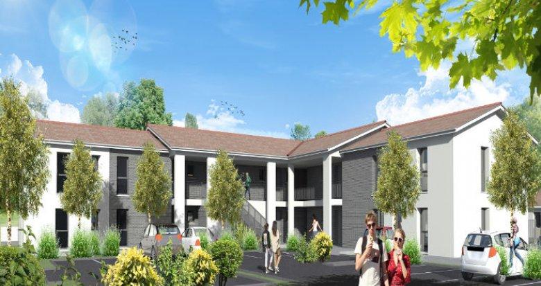 Achat / Vente appartement neuf Saint-Médard-d'Eyrans proche transports (33650) - Réf. 4375