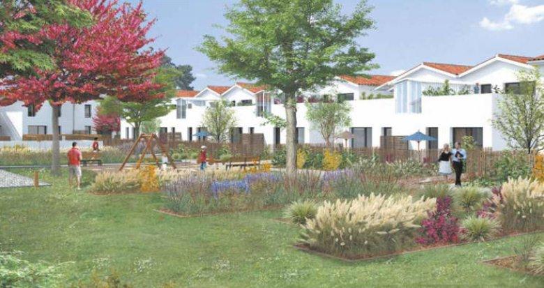 Achat / Vente appartement neuf Saint-Médard-en-Jalles coeur quartier Corbiac (33160) - Réf. 3070
