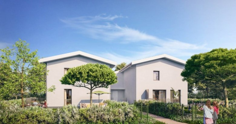 Achat / Vente appartement neuf Saint Vincent de Paul à 30 min de Bordeaux (33440) - Réf. 5309