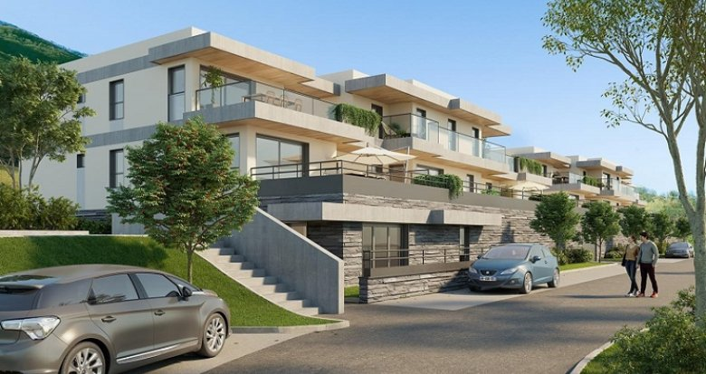 Achat / Vente appartement neuf Seyssins proche centre-ville et nature (33650) - Réf. 5677