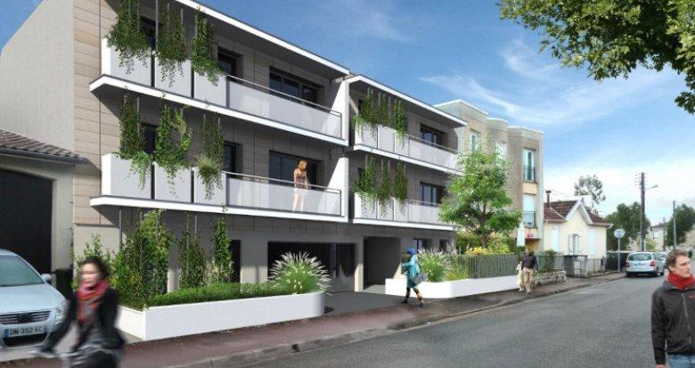 Achat / Vente appartement neuf Talence en plein cœur du domaine universitaire (33400) - Réf. 5210