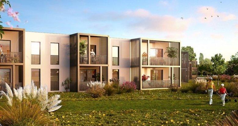 Achat / Vente appartement neuf Villenave d'Ornon en bordure de Garonne (33140) - Réf. 1512