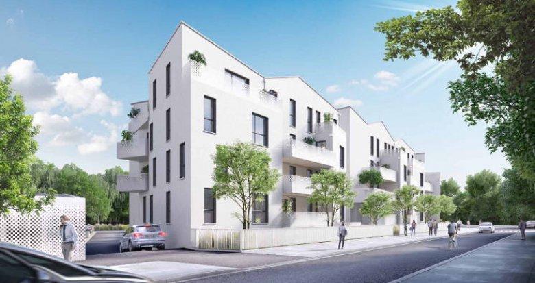 Achat / Vente appartement neuf Villenave d'Ornon au cœur du quartier des Lacs (33140) - Réf. 5909