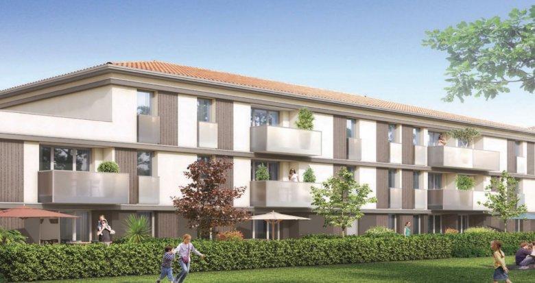 Achat / Vente appartement neuf Villenave d'Ornon, entre Bocage et Vieux Bourg (33140) - Réf. 5220