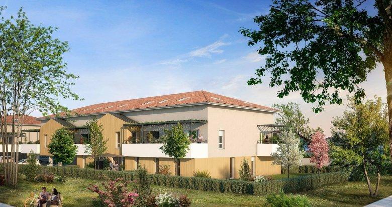 Achat / Vente appartement neuf Villenave-d'Ornon proche du Golf (33140) - Réf. 6203