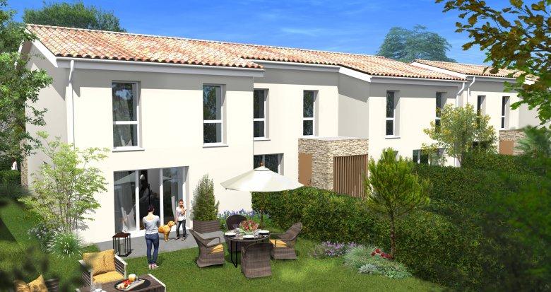 Achat / Vente appartement neuf Villenave-d'Ornon secteur pavillonnaire calme (33140) - Réf. 6104